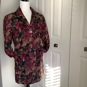 FDJ FRENCH DRESSING BUTTON UP JACKET SIZE 6